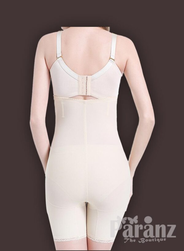 High waist and thigh slimming underwear body shaper new back side view