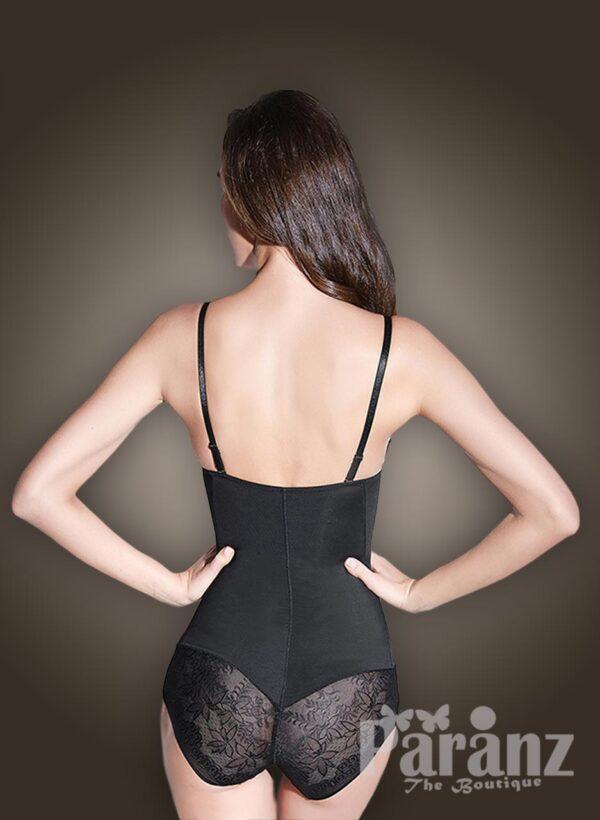 Low waist slimming underwear body shaper new back side view
