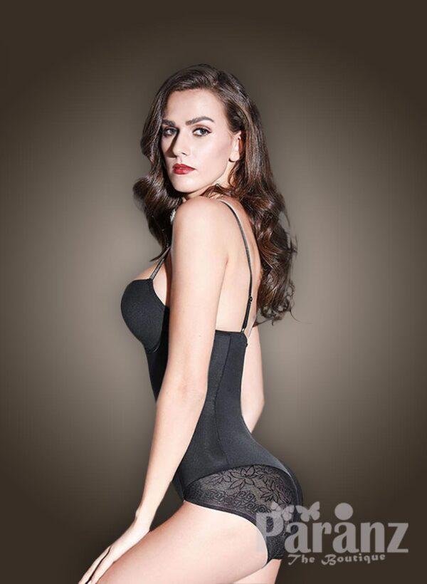Low waist slimming underwear body shaper new side view (2)