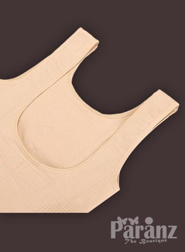 Open-bust style sleeveless full body shaper underwear for women new Raw view (2)