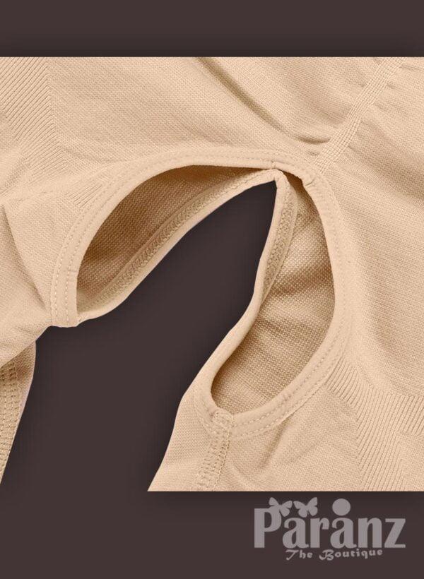 Open-bust style sleeveless full body shaper underwear for women new Raw view (4)