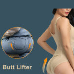 Sleeveless and comfortable front zipper closure underwear body shaper new for women side view