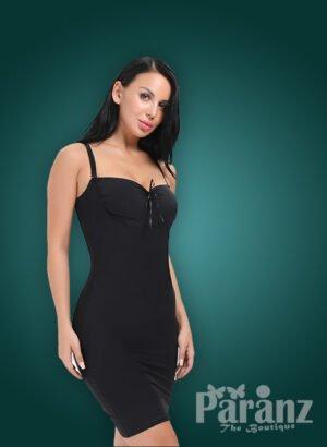 Black full body adjustable Hexin underwear body shaper