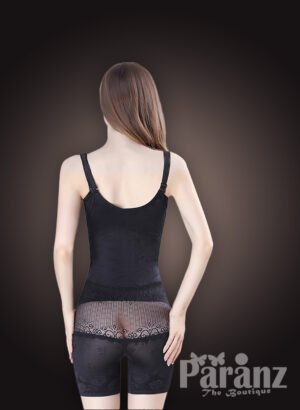 Breathable and seamless open bust tummy slimming and bust lifter full body shaper Back new