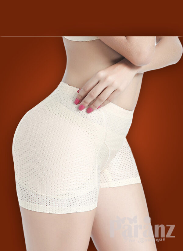 Breathable white waist trainer for women
