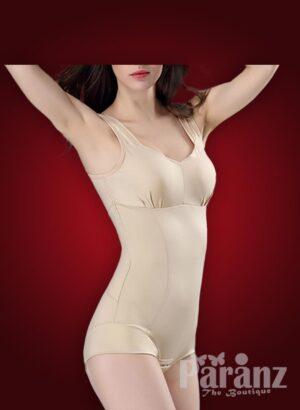 Sleeveless pre cup attach tummy slimming underwear body shaper new views