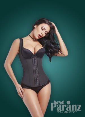 Soft black tummy corrector underwear body shaper new