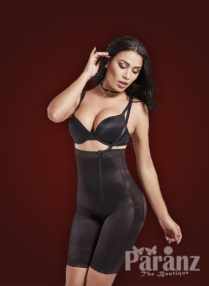 Strappy sleeve open-bust style perfect compression underwear open-bust style new