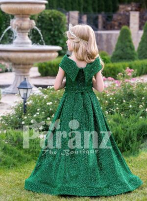 A classy and elegant formal party-wear for little Czarinas! back side view