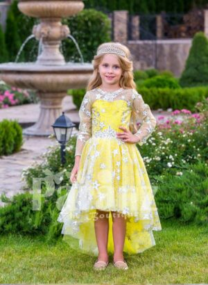 A formal dress for your little fairy that's worth mentioning