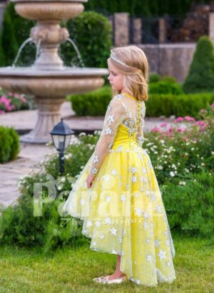 A formal dress for your little fairy that's worth mentioning side viewe