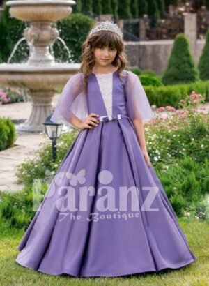 A regal dress for your little daughter to mark any formal gathering