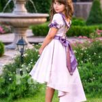 Alluring range of formal dresses for your little princess side view