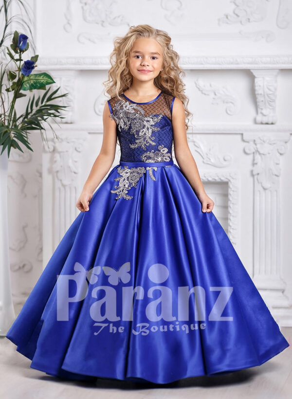 An exotic dress for your real life little Barbie!