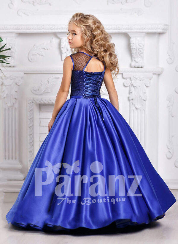 An exotic dress for your real life little Barbie! back side view