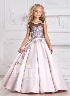 Blending flamboyance with innovative designing in formal dress for little girls