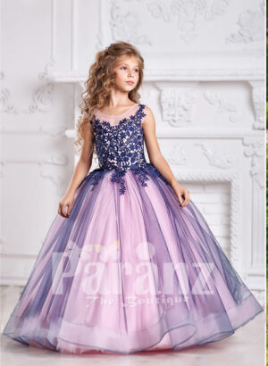 Gorgeous dress for your little daughter that sparks a unique charm