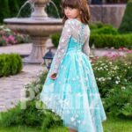 Reinvent your daughter in this specially designed bride-maid's dress side view
